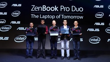 ASUS Zenbook Pro Duo Laptops With Dual Screen Launched in India; Prices, Features & Specifications